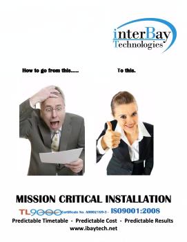 iBT Brochure screenshot